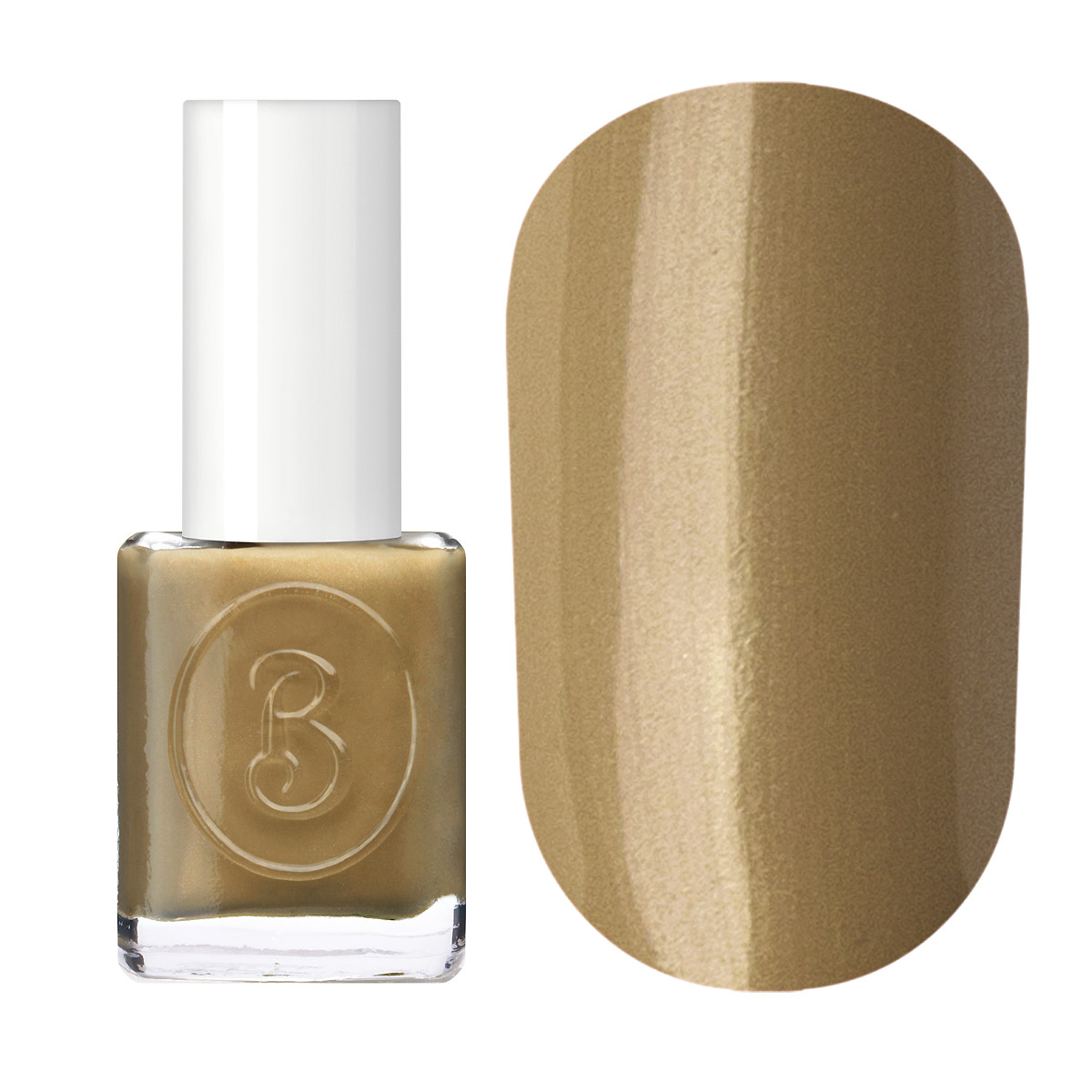 Berenice Oxygen Nail Polish / 46 honey bronze